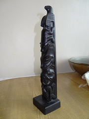 Grandad's Canadian Totem Pole (Ian156) Tags: craft nativeamerican totempole