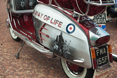 A way of life. (f22photographie) Tags: artwork scooter lambretta wirral newbrighton scooterrally newbrightonscooterrally2013