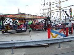 Funfair and Mir (DSCF9885) (AngusInShetland) Tags: scotland tallships shetland lerwick tallshipsrace sailtraining