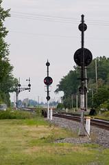 13-4669 (George Hamlin) Tags: railroad light ohio color photo signals bo former decor position cpl csx deshler
