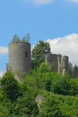 2013-07-07 Niederlauterstein (beranekp) Tags: old castle history germany deutschland alt saxony ruine sachsen burg erzgebirge zcenina niederlauterstein