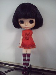 Do i look cute with my red new outfit?