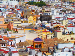 Sevilla (twiga_swala) Tags: old panorama town sevilla andalucía spain view rooftops centro seville aussicht andalusia altstadt espagne giralda vue spanien ausblick histórico siviglia