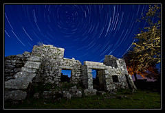 John-Bishops-House (RattyBoots) Tags: longexposure camping night canon ruin july 7d derelict dartmoor startrail canon1022 2013 johnbishopshouse