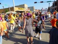 Everybody do the chicken dance! (ali eminov) Tags: celebrations henoween waynechickenshow dances chickendance wayne nebraska