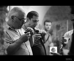 "Inauguration day ""Spazio.Art 33"" @Roma (Serena Bigi) Tags: italy rome roma rock photo paint moments artist italia foto arte bn persone persons fotografia bianconero artista rm viacavour viadeglizingari samcro studioarte serenabigi alessandracarloni"