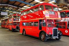 RTW75 and RTL453 (keith-v) Tags: bus london company leyland pd2 ensignbus rtl453 rtw75