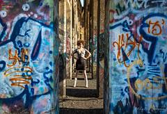 Fierce (Eliza Belle Photography) Tags: blue portrait musician color texture philadelphia graffiti vibrant badass carsieblanton coalpiers
