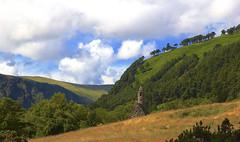Glendalough (jackfender2k8) Tags: county ireland tower castle church canon eos republic southern glendalough usm wicklow efs ef kirk republicofireland 550d 1585 1585mm