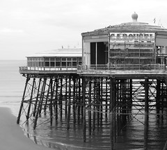 On North Pier (Tony Worrall Foto) Tags: uk sea england building wet water lines pier seaside iron tour ride northwest north victorian visit structure resort shore poles blackpool attraction supports fylde northpier 2013tonyworrall