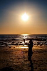 Sufers (Crystal_rivera) Tags: sunset beach sandiego surfers