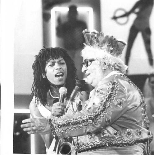 Djavan e Chacrinha 1983