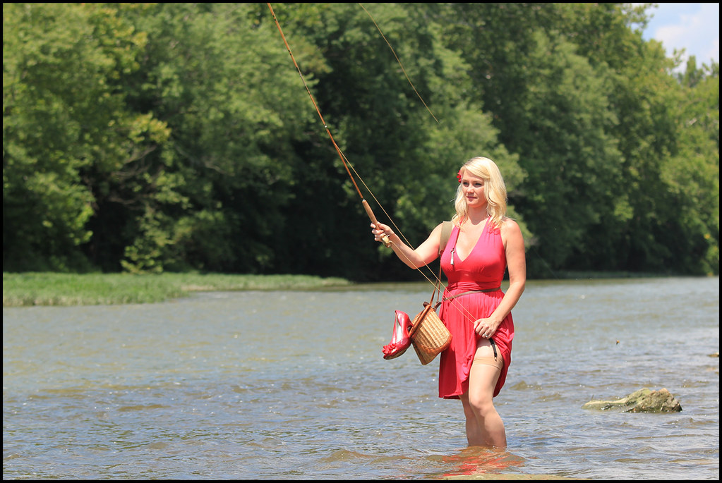 The world 39 s best photos of blonde and reel flickr hive mind for Fly fishing ohio