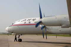 DSC_0993 (Proplinerman) Tags: aircraft airliner turboprop northkorea dprk ilyushin propliner airkoryo samjiyon ilyushin18