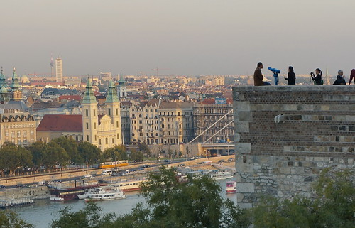 Buda Castle - looking towards Pest