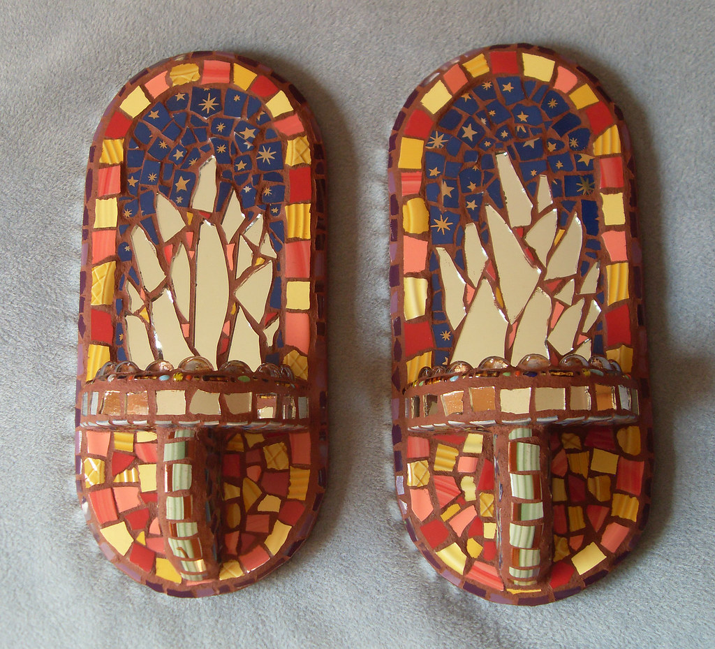 Mexican Style Wall Sconces : The World s Best Photos of etsy and plates - Flickr Hive Mind