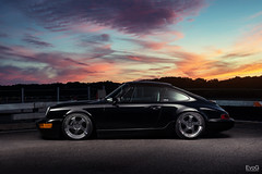 Porsche 964 (Explored) (Evano Gucciardo) Tags: lighting sunset sky art cars clouds vintage nikon euro low wheels 911 automotive rochester german porsche vehicle custom tone strobe classy slammed stance d800 carphotography 964 gucciardo commercialphotography autoart strobist evano transportationphotography worldcars evog pagesevogphotography373799243687reftsevanogucciardo