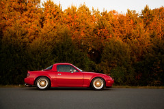 Miata Fall Autokonexion  copy (Ryan.C.Davis) Tags: autumn fall charlotte mazda goodrich miata bbs bf flares individual stance coilovers rm 24105mm mazdaroadster throttlebodies projectg clubroadster canon5dmarkii autokonexion miataroadster modslammed