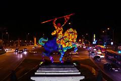 Intervención Estatua del Cid Sevilla OLEK