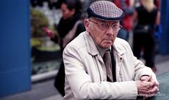 Interruption (Anthony Cronin) Tags: ireland analog superia irelanddublin inner street fuji irishlife street 200 dublinlife dublin dublinirish streetsdublin dublinliving dunne tpastreet photangoirl dublinirelandnikonf7550mmf14d50mmf14danthonycroninallrightsreservedirishphotographystreetsdublinstreetphotographystreetsofdublin