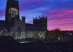 Durham_Lumiere_Cathedral_early (The^Bob) Tags: england durham cathedral lumiere
