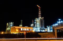 Paisaje industrial / Industrial Landscape (aldairuber) Tags: nightphotography nightshot industriallandscape tarragona basf fotografíanocturna paisajeindustrial lacanonja