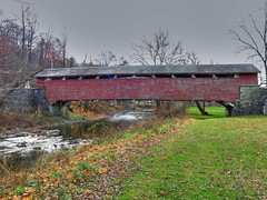 Guth's Bridge (jefg99) Tags: county bridge red photo flickr tags pa covered valley lehigh