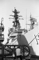 Warships USS Semmes (DDG 18) Trieste 1969 set 10 (1) (Paolo Bonassin) Tags: italy 1969 destroyer usnavy trieste warships usssemmesddg18 ©paolobonassin