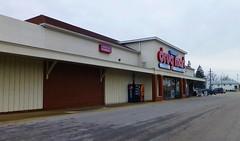 Former A&P Sandusky (Nicholas Eckhart) Tags: plaza ohio usa retail america us market supermarket pharmacy perkins ap drug oh former grocery stores mart reuse sandusky 2013