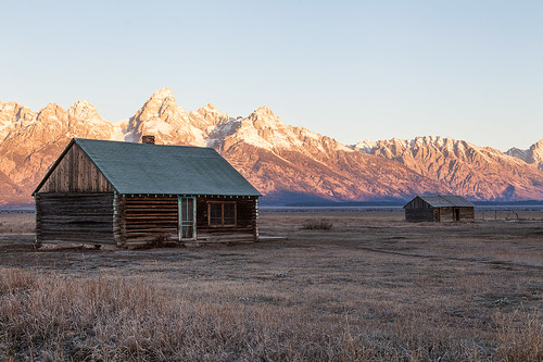 Disused houses - Grand Teton np
