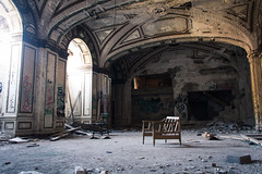 Lee Plaza Hotel (Stephen Poullas) Tags: detroit