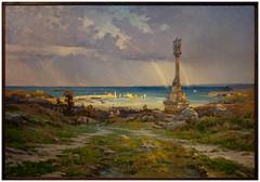 SAINTIN Henri 1894 Aprs l'orage, Portrieux (PoissArt) Tags: port marine bretagne cte arcenciel calvaire portrieux peinturebretonne saintbrieucmusedartetdhistoire saintinhenri odelapluie