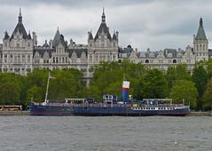 Tattershall Castle (picqero) Tags: england london heritage history boats ships wwii engineering worldwarii