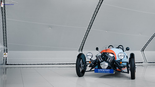 The Morgan three wheeler