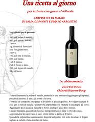Una ricetta al giorno: crepinette di maiale (cantineleonardodavinci) Tags: christmas recipe wine davinci chianti natale vino maiale ricetta riserva crepinette