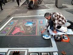 Dublin Street Artist (saxonfenken) Tags: street city dublin streetartist pinting 8026 thechallengefactory herowinner pregamesweepwinner 8026misc