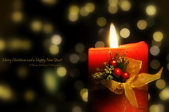 357/365: 12/23/2013. Season's Greetings! (peddhapati) Tags: christmas lamp interesting holidays candle bokeh newyear celebration greetings happyholidays seasonsgreetings merrychristmasandahappynewyear nikond90 day357365 3652013 2013yip 365the2013edition bhaskarpeddhapati flickr12days 12232013