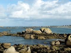 Ménez-Ham (côté soleil) (kercanic29) Tags: mer bretagne rochers kerlouan finistre pharedepontusval ménezham