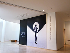Museum, Herb Ritts at the Center for Photographs, Mural