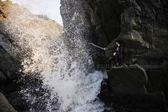 sploshhhhhhhh (SW23CT (CamsDigitalCanvas.com)) Tags: california boy man beach water rock danger crash wave pch sword cody splash camarillo hwy1 cdc mugurock ptmugu nikond7100 muguarch thephotographizer