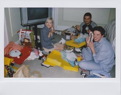 holding down the fort (BRE@NNE) Tags: christmas family hotel james emily fort andrew gifts larry garry bffs instax