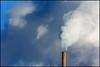Cloud Generator (1 of 2) (Andy Marfia) Tags: clouds vent iso200 illinois university smoke steam smokestack northwestern evanston 70300mm f8 11600sec d7100