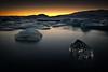 [ ... ice diamond ] (D-P Photography) Tags: sunset sun ice canon island iceland glacier iceberg glacierlagoon jökulsarlon leefilters dpphotography