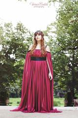 Audrey (Verónica Bautista) Tags: barcelona españa woman girl spain nikon dress medieval fantasy parcdellaberintdhorta d7000