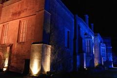 The Abbey. (ChRisGilEs Photography) Tags: blue light abbey buildings illuminations samsung national trust 1000 lacock nx