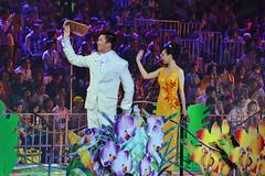 Paint with One Heart #4 (chooyutshing) Tags: festive singapore performance celebration musical streetparade marinabay pitbuilding peoplesassociation republicboulevard chingayparade2014 coloursoffabriconepeople paintwithoneheart