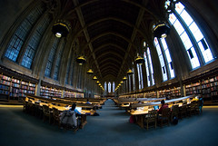Suzzallo Reading Room. (Daniel.Lam) Tags: fish eye college uw photography reading washington nikon university daniel library room harry potter fisheye finals 8mm studying universityofwashington mid lam suzzallo terms suzzallolibrary d80 daniellam rokinon daniellamphotography
