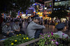Secure (Michael Steverson) Tags: china street city urban men night asian chinese security chinadigitaltimes securityguards