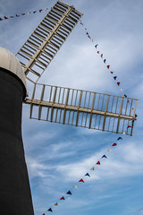 Holgate Windmill - decorated for the Tour de France (4)