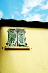 Blue Sky (stefan_wolpert) Tags: blue summer sky building window day view happiness concept ease